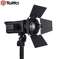 60W LED прожектор с линзой Френеля - Tolifo FL-60S Fresnel Light автономный профессиональный моноблок