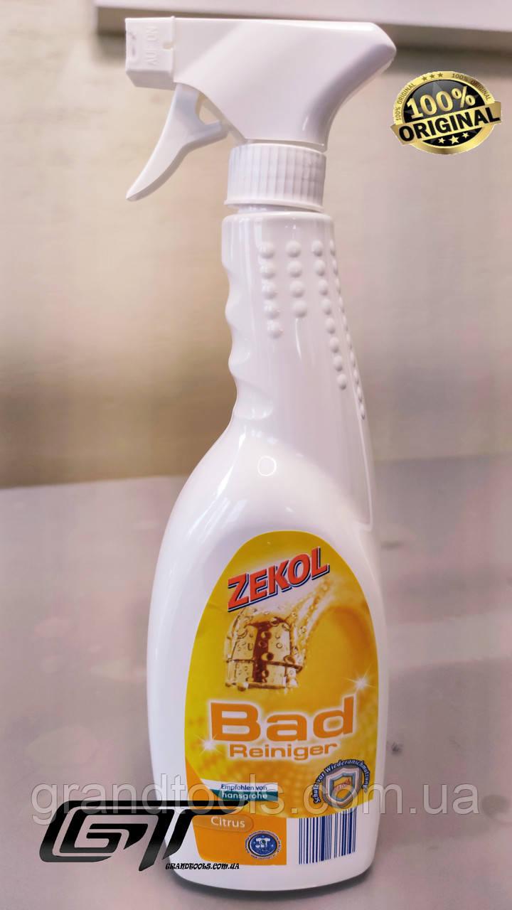 Zekol спрей для чищення ванни Badreiniger Citrus 1л Оригінал Німеччина