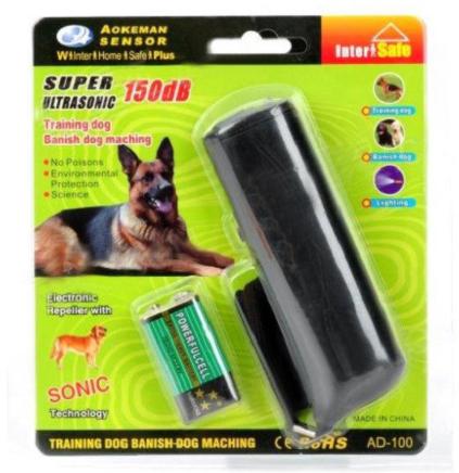 Ультразвуковой отпугиватель собак AD-100 B