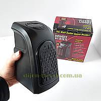 Портативный обогреватель handy heater 400 Вт / Маленький мини обогреватель в розетку / Керамический дуйчик