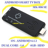 Mk 806 SE dual core 1.2 Android 4.1 SmartTV MiniPC, фото 1