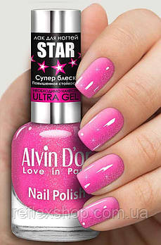 Лак для ногтей Alvin D`or STAR Супер блеск тон 6114 15мл
