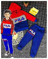 Детский теплый спортивный костюм, фото 1