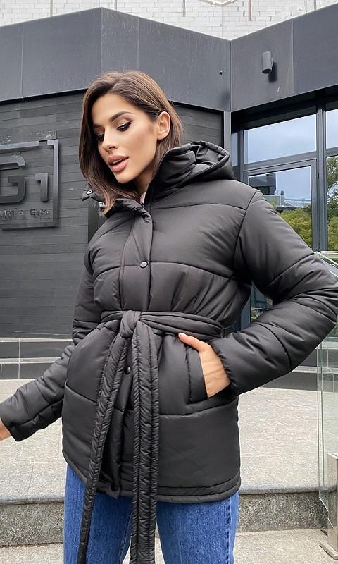 Куртка 334091/1 42 чёрный