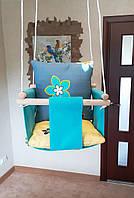 """Подвесная качеля """"Летний цветок"""". Детская качеля, качеля детская, детские качели"""