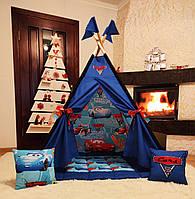 Вигвам Тачки 3 Полный комплект! Детская палатка, детский вигвам, детский домик,вигвам детский