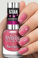 Лак для ногтей Alvin D`or STAR Супер блеск тон 6118 15мл