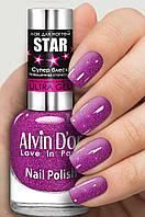 Лак для ногтей Alvin D`or STAR Супер блеск тон 6119 15мл