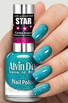 Лак для ногтей Alvin D`or STAR Супер блеск тон 6122 15мл