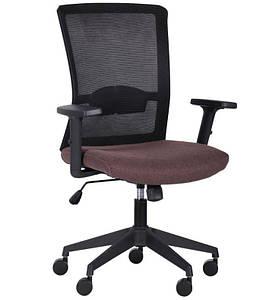 Кресло Uran Black сиденье Сидней-26/спинка Сетка SL-00 черная