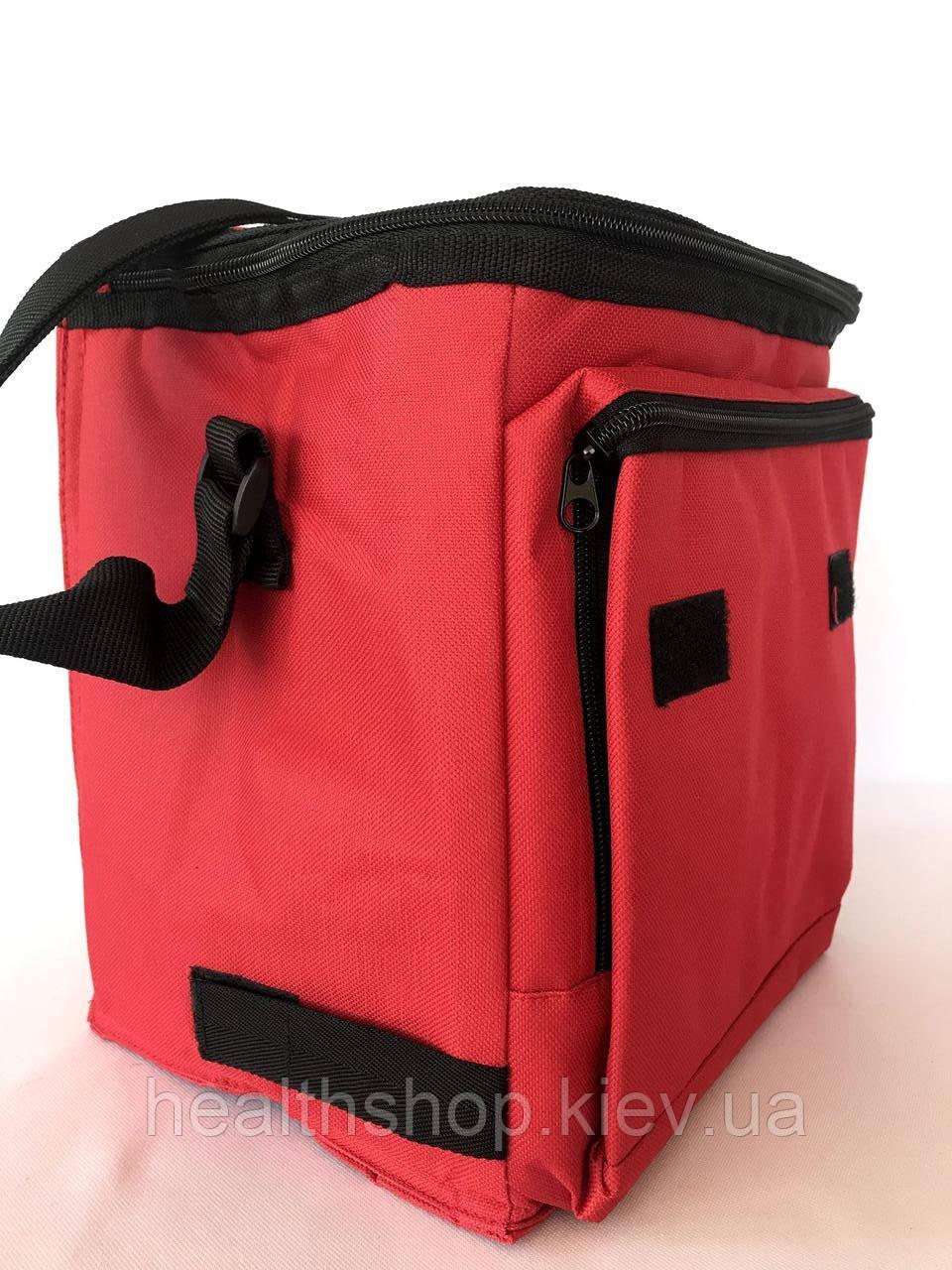 Ізотермічна сумка. (сумка-холодильник) червона