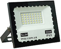 "Прожектор LED-20W Ultra Slim 1800Lm 6500K IP65 SMD (ТМ""TNSy"")"