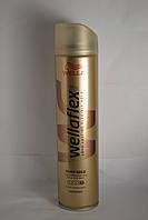 Лак для волос Wellaflex Суперсильной Фиксации  с технологией Flexactive Блеск и Фиксация, Германия