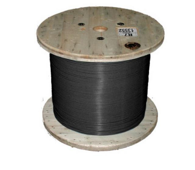Кабель нагревательный одножильный отрезной TXLP 3,5 OHM/M BLACK Nexans