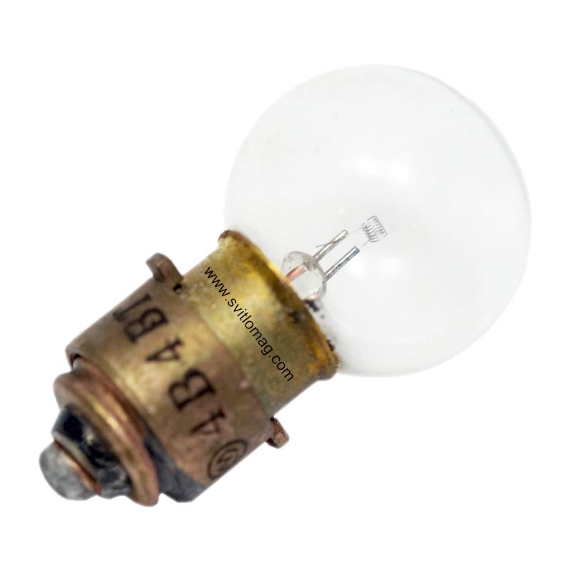 Лампа накаливания оптическая ОП 4-4-2 1Ф-С11 Завод МЭЛЗ Москва