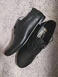 Туфли женские на шнурках кожаные. Подошва: черная и белая. Разные расцветки. Размеры: 36-42, код 4611О, фото 4
