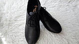 Туфли женские на шнурках кожаные. Подошва: черная и белая. Разные расцветки. Размеры: 36-42, код 4611О, фото 5