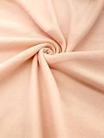 Флис, флисовая ткань (ш 150 см) цвет персик для пошива взрослой и детской одежды,поделок, кукол