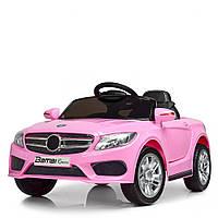 Детский электромобиль Розовый Mercedes (2 мотора, MP3, USB, FM) Bambi M 2772EBLR-8