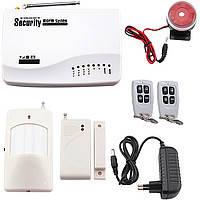 Комплект охранной сигнализации GSM 10A