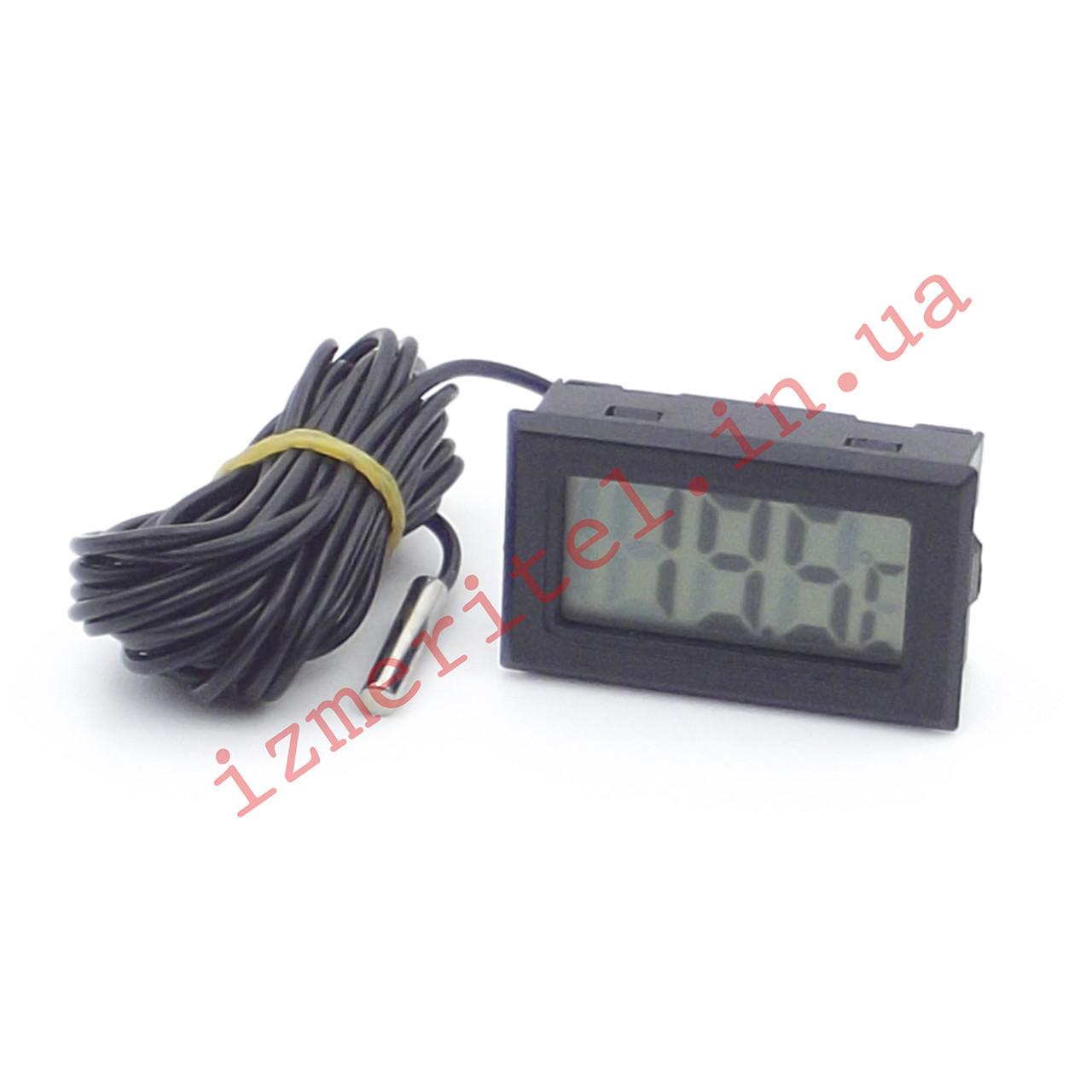 Цифровой термометр с выносным датчиком -50...+110 °С, 3 метра