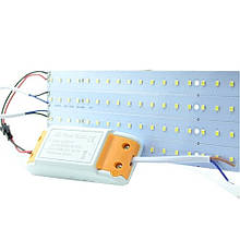 Комплект самоклеючих світлодіодних лінійок 28W з драйвером яскраве світло ремкомплект AVT