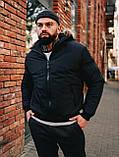 Мужская зимняя черная куртка, Jacket Winter (black), короткая зимняя куртка, фото 6