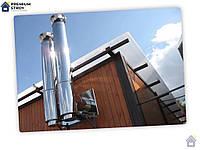 Труба из нержавейки для дымоходов d100 0,5 мм 0.5 м