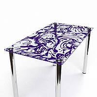 Стол обеденный из стекла модель Весна