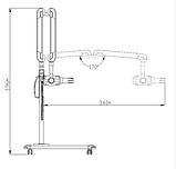 Мобильный дентальный рентген-аппарат RIX 70 AC-M Trident Dental (Италия), фото 5