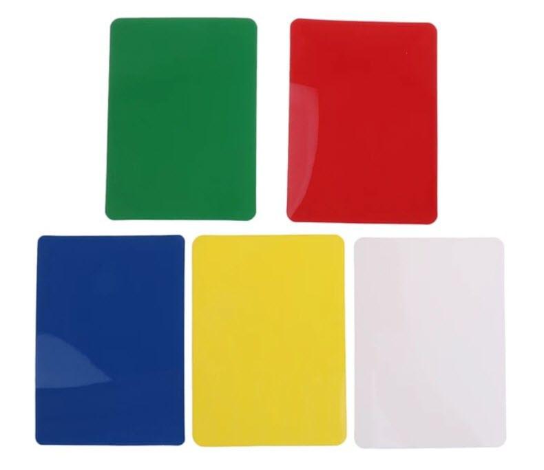Комплект подрезных (фальш, срезных) карт для покера из 5-ти штук