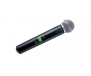 SHURE SLX2BETA58P4 Радіосистема UHF 702-726MHz, передавач один ручний мікрофон BETA58