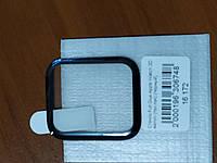 Стекло Full Glue Apple Watch 3D 44 mm (черный)