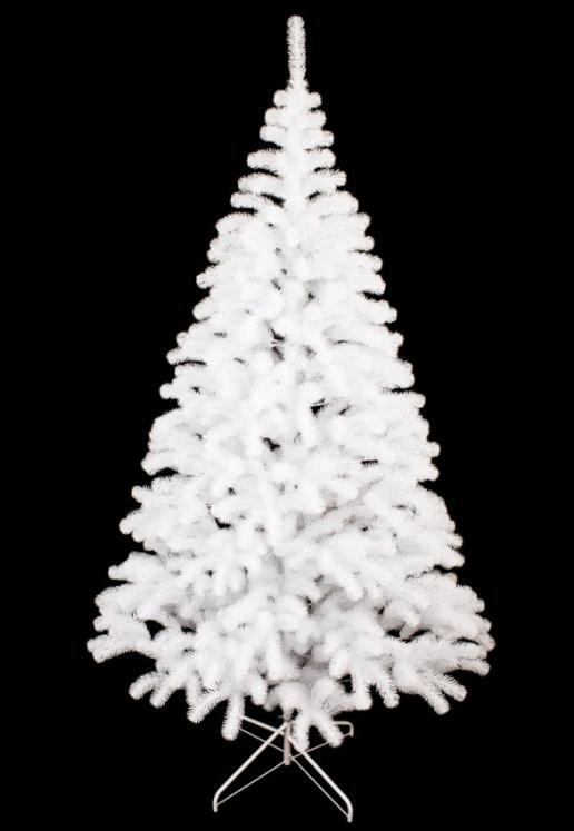 Елка литая Президентская белая размеры от 1,5 до 2,5 м