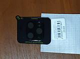 Стекло на камеру Camera  Tempered Glass 3D / 9H  iPhone 11 Pro Max  2019  (черное), фото 2