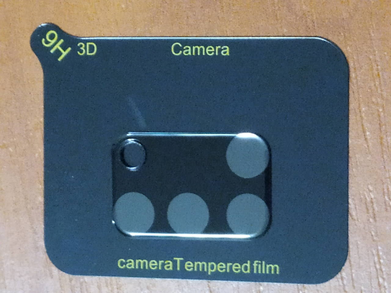Стекло на камеру Camera  Tempered Glass 3D / 9H  Samsung  A31   2020  (черное)