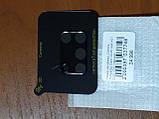 Стекло на камеру Camera  Tempered Glass 3D / 9H  Samsung  A31   2020  (черное), фото 2