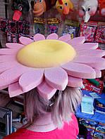 Карнавальна шапка Квіточки з поролону для дітей і дорослих