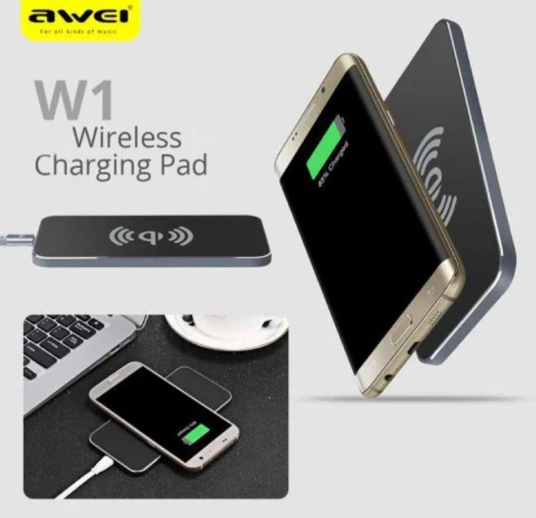 Беспроводная зарядка Awei W1 Power bank