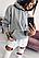 Толстовка з капюшоном жіноча жіноча красива стильна худі р 42-46 (код 0827-00), фото 3