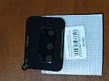 Скло на камеру Camera Tempered Glass 3D / 9H Samsung S20 (чорне), фото 2
