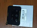 Скло на камеру Camera Tempered Glass 3D / 9H Samsung S20 Plus (чорне), фото 2