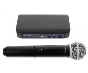 SHURE BLX24EPG58 Радіосистема UHF 742-766mHz.один ручний мікрофон