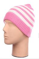 Шапка для девочек - розовый, пудра, серый, синий