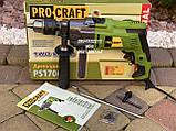 Ударная электрическая дрель Procraft PS1700/2, фото 2