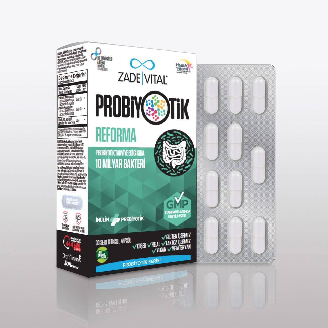 Пробиотики Probiotic Reforma. ZADE VITAL