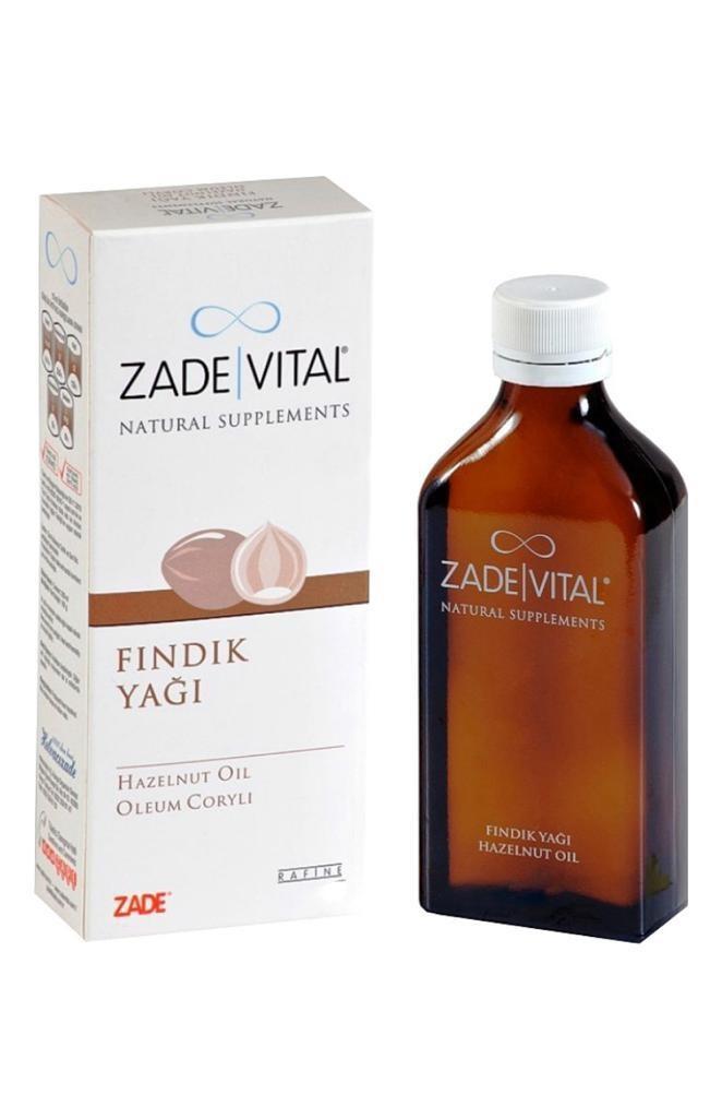 Масло лесного ореха 100 мл. Hazelnut Oil 100 мл. ZADE VITAL