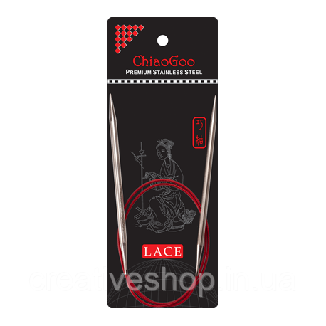 Спицы Chiaogoo Red Lace круговые (60 см) 4,5 мм