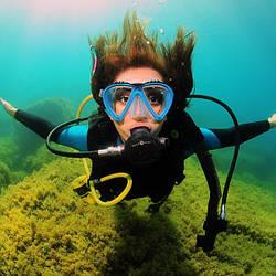 Условия работы водолазов на глубинах до 12 метров.