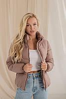 Женская демисезонная куртка-пуховик, 3 цвета